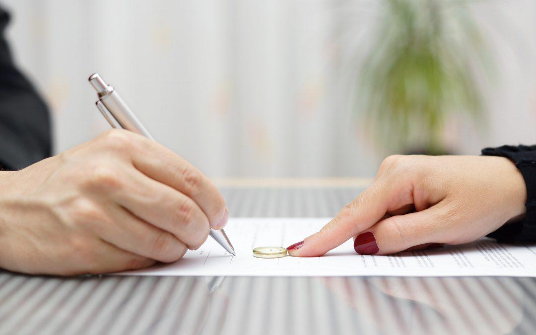 ¿Qué debo llevar a mis asesorías sobre divorcio?
