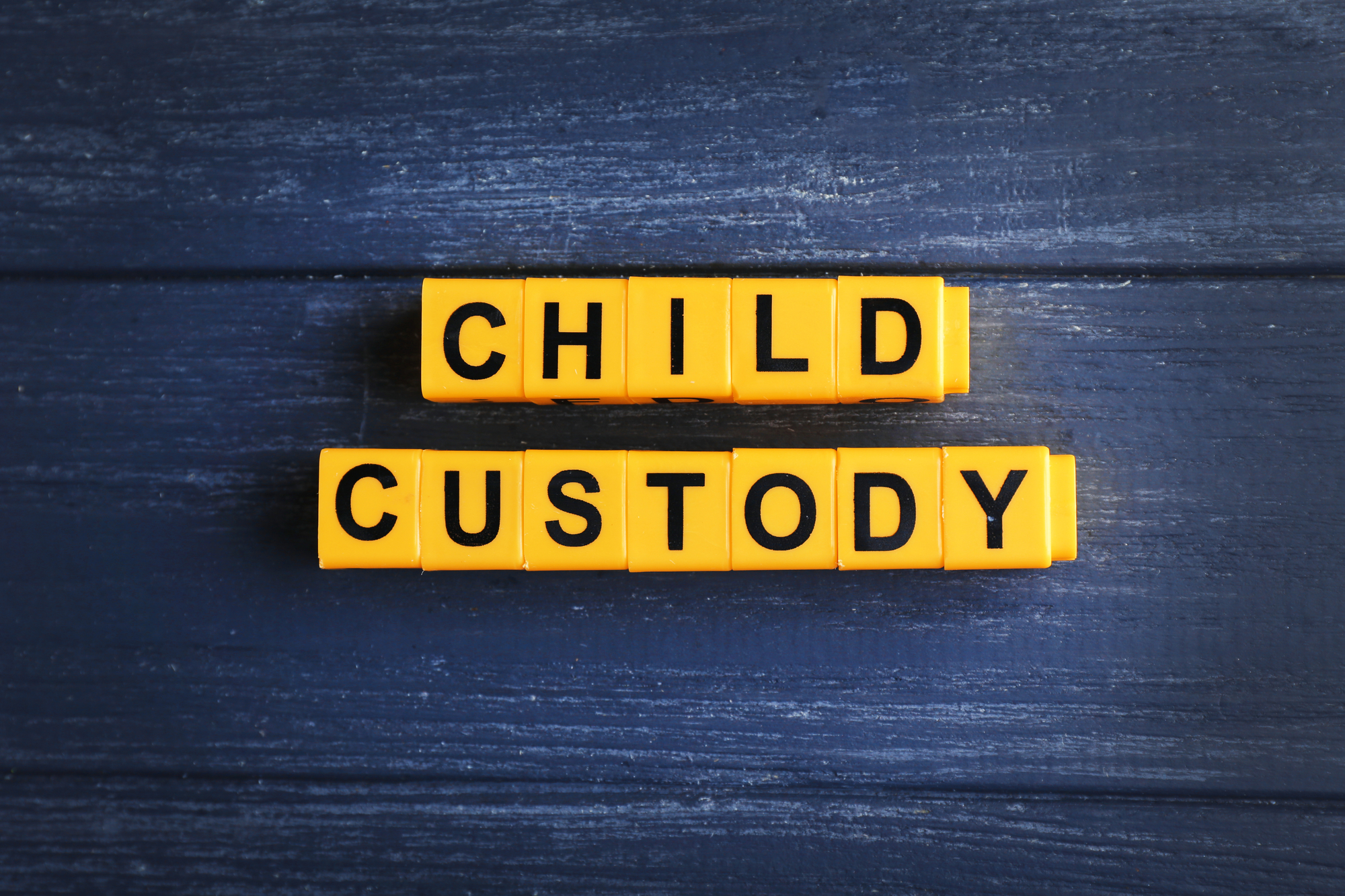 Tipos de custodia legal de menores en los Estados Unidos