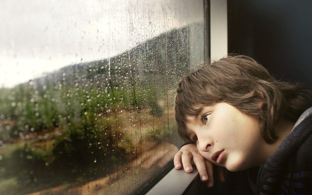 ¿A dónde van los niños después del divorcio